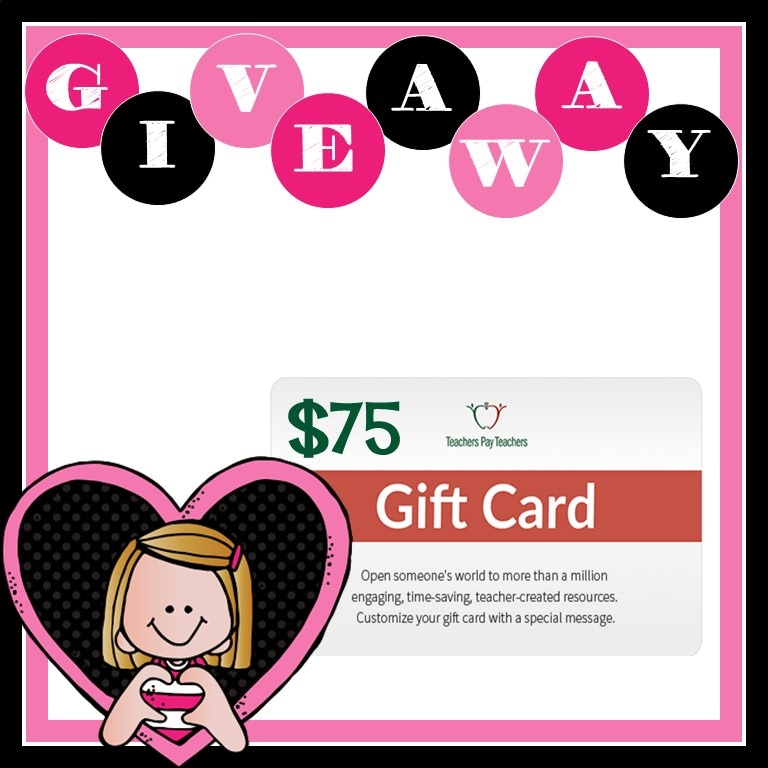 Enter now to win a $75 TPT Gift Card!