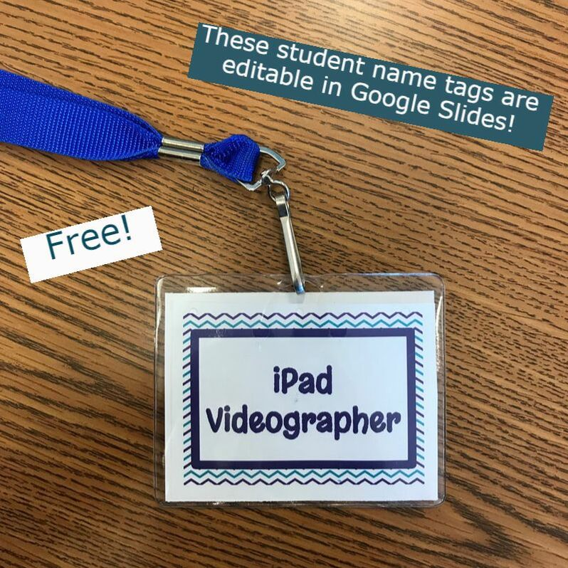 Mystery Skype student name tags - Free and Editable in Google Slides! #mysteryskype #freebie #iteach6th #techteacher #teachersofinstagram