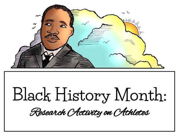Black History Month - Athletes Research Activity
