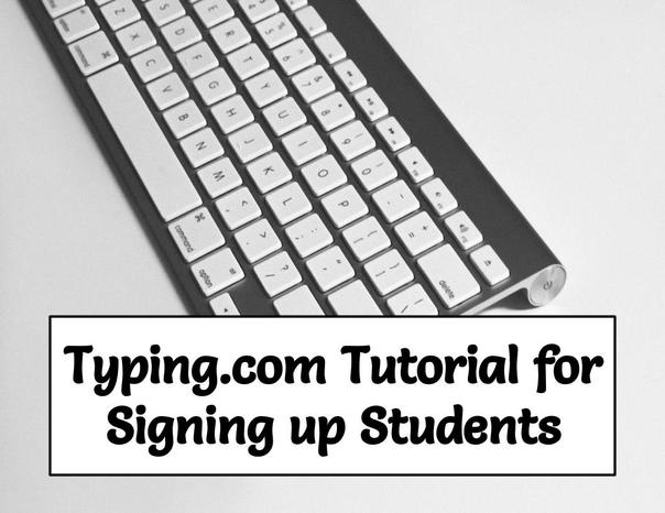 Freebie! Typing.Com Tutorial for Students!