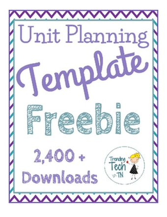 My Unit Planning Template FREEBIE was featured in the TPT Newsletter today! Click here to get your copy of this freebie today!