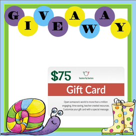 $75 TPT Gift Card Giveaway - Enter to win before it is too late!
